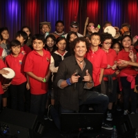 Carlos Vives & 4th Graders at The Grammy Museum